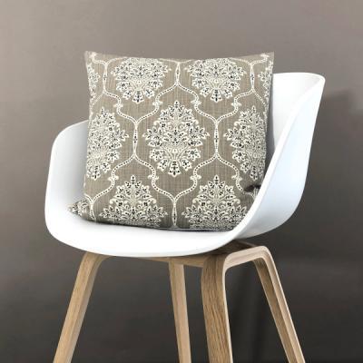 Kissenbezug DREAMS sand beige pastell Ornament Kissen Landhausstil 50x50
