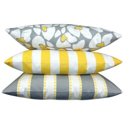 kissen cheyenne orange gelb natur federn 50 x 50 cm. Black Bedroom Furniture Sets. Home Design Ideas