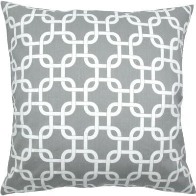 kombination kissen t rkis wei grau grafisch geometrisch 40 x 40 cm. Black Bedroom Furniture Sets. Home Design Ideas