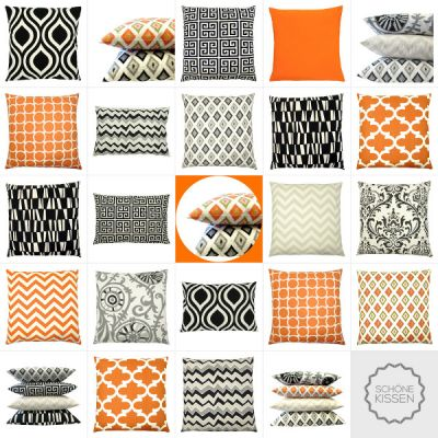 Kissen Orange - dekorative Kissenbezüge online kaufen Seite 2