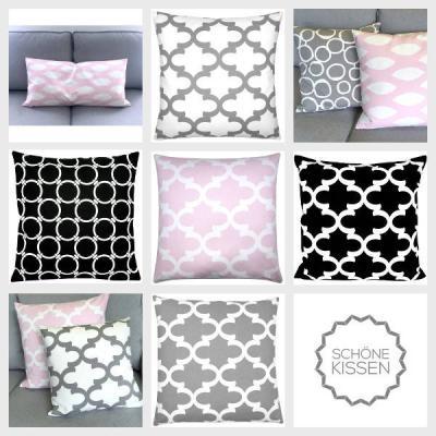 kissen dimensions grau dreiecke grafisch skandinavisch 40 x 60 cm. Black Bedroom Furniture Sets. Home Design Ideas