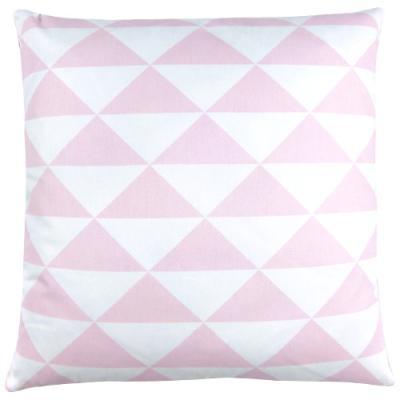 kissenh lle dimensions rosa pastell dreiecke skandinavisch grafisch 40 x 40 cm. Black Bedroom Furniture Sets. Home Design Ideas