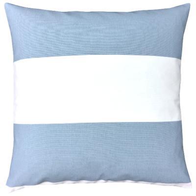 Kissenhlle CABANA Hellblau Weiss Streifen 50 X Cm
