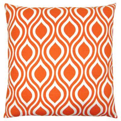 kissen kombination schwarz wei orange 40 x 40 cm. Black Bedroom Furniture Sets. Home Design Ideas