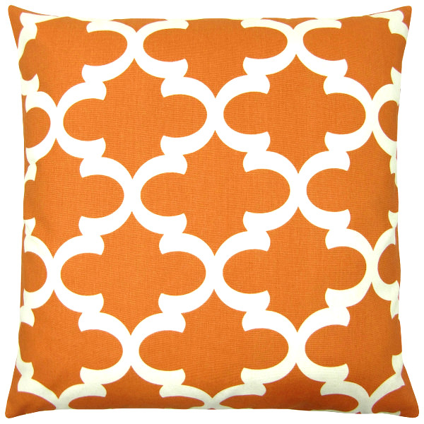 Kissen Orientalisch.Kissenhülle Fynn Orange Natur Kissen Orientalisch 60 X 60 Cm