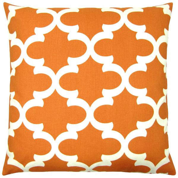 kissenh lle fynn orange natur orientalisch gittermuster 40. Black Bedroom Furniture Sets. Home Design Ideas