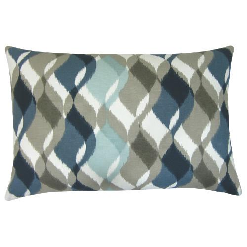 kissenbezug finley sand blau t rkis braun retro 30 x 50 cm. Black Bedroom Furniture Sets. Home Design Ideas