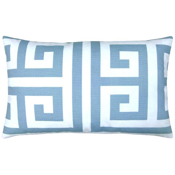 kissenh lle zeus hellblau wei skandinavisch 30 x 50 cm. Black Bedroom Furniture Sets. Home Design Ideas