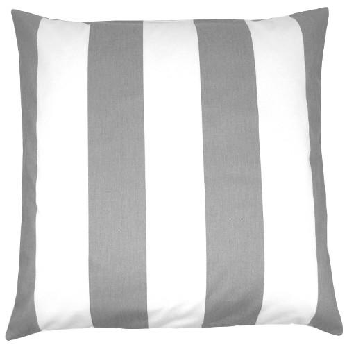 1 kissenh lle vertical grau wei streifen skandinavisch 50 x 50 cm. Black Bedroom Furniture Sets. Home Design Ideas