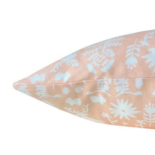 kissenbezug promiseland apricot wei skandinavisch 50 x 50 cm. Black Bedroom Furniture Sets. Home Design Ideas