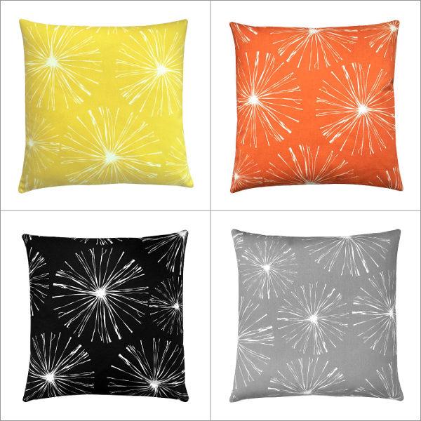 Kissenebzug Sparks Orange Weiß Blumen 40 X 60 Cm Seite 13