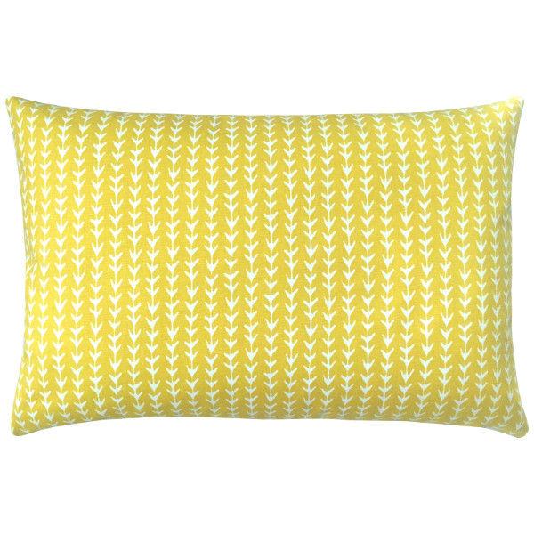 kissenh lle vine gelb zitronengelb kissen skandinavisch grafisch 30 x 50 cm. Black Bedroom Furniture Sets. Home Design Ideas