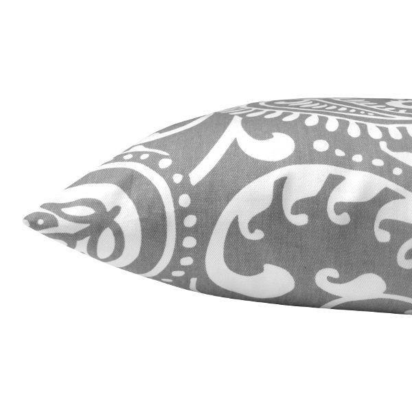 kissenh lle walker grau wei paisley klassisch 30 x 50 cm. Black Bedroom Furniture Sets. Home Design Ideas