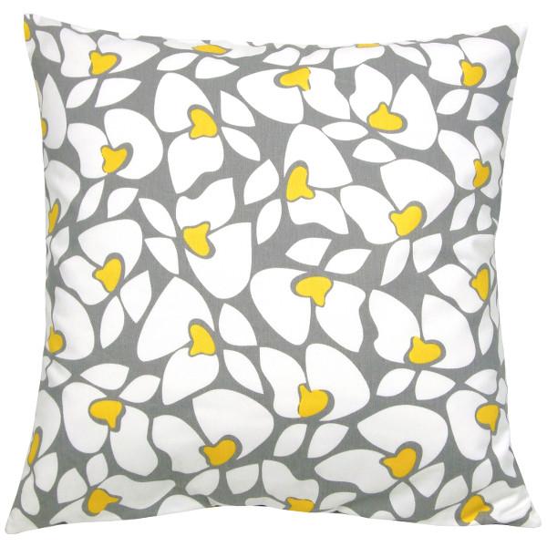 kissenh lle chevron gelb wei zickzack leinenstruktur 30 x 30. Black Bedroom Furniture Sets. Home Design Ideas