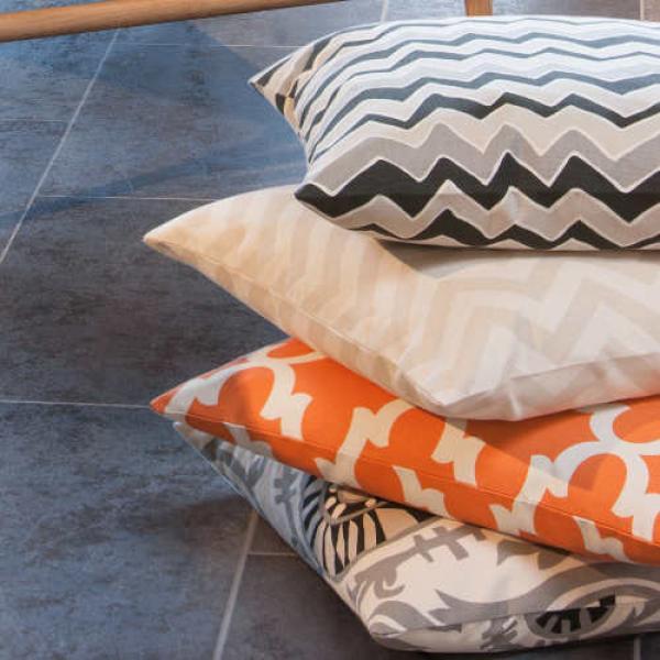 kissenh lle fynn orange natur orientalisch 60 x 60 cm. Black Bedroom Furniture Sets. Home Design Ideas