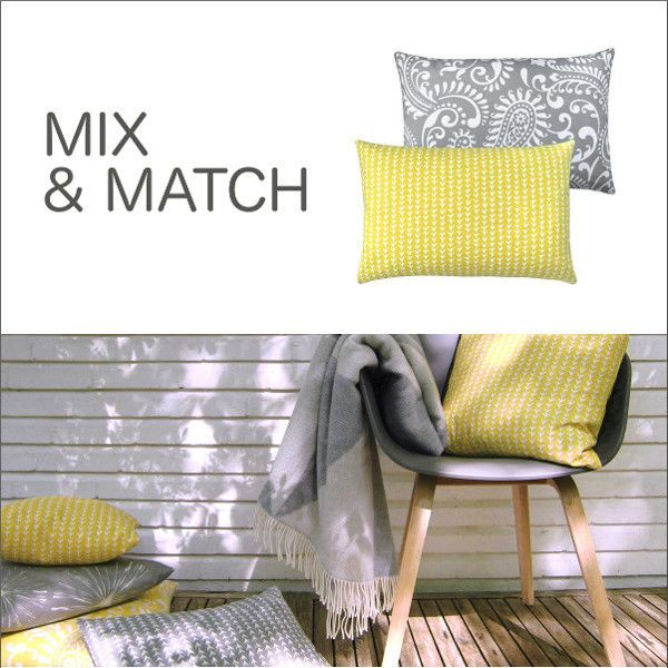 kissen kissenh lle vine zitronengelb gelb skandinavisch grafisch 50 x 50 cm. Black Bedroom Furniture Sets. Home Design Ideas
