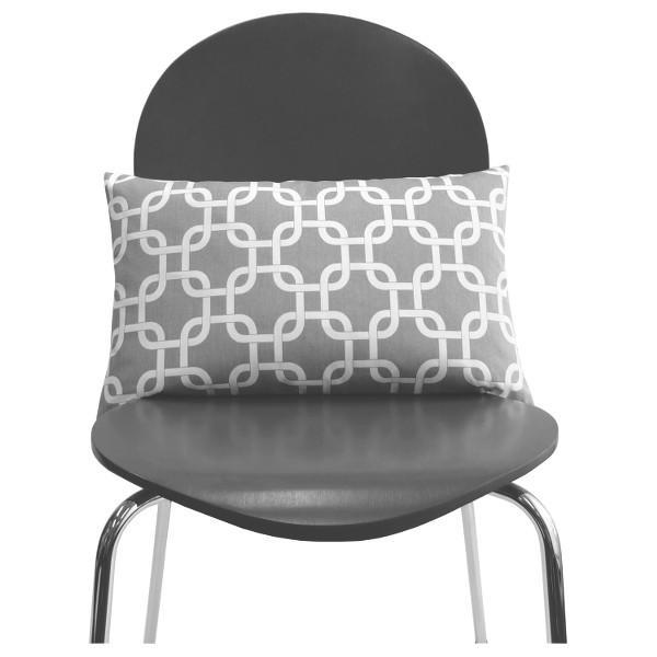 kissen kissenbezug kissenh lle gotcha grau wei grafisch kettenmuster skandinavisch 30 x 50 cm. Black Bedroom Furniture Sets. Home Design Ideas
