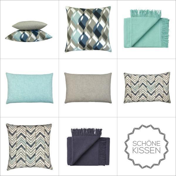 kissenh lle jackson t rkis einfarbig uni skandinavisch 40 x 60 cm. Black Bedroom Furniture Sets. Home Design Ideas