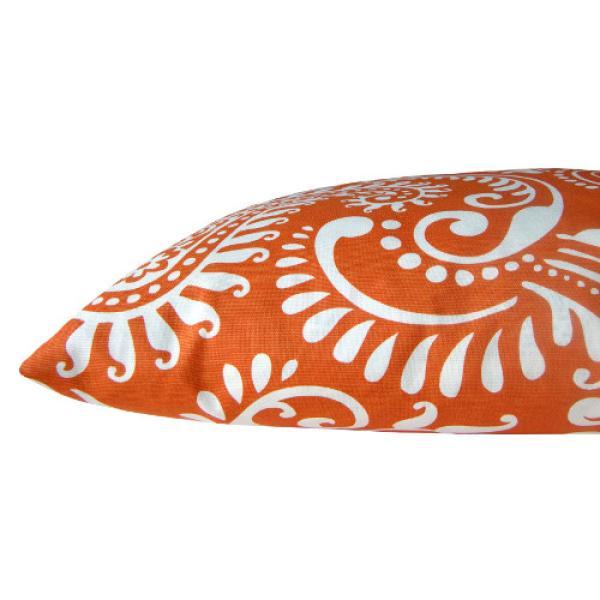 kissenh lle walker orange wei paisley 60 x 60 cm. Black Bedroom Furniture Sets. Home Design Ideas