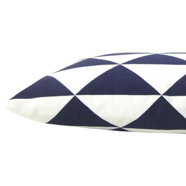 kissenh lle dimensions blau dreiecke grafisch maritim 40 x 40 cm. Black Bedroom Furniture Sets. Home Design Ideas
