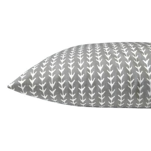 kissenh lle vine grau wei ranken skandinavisch 40 x 60 cm. Black Bedroom Furniture Sets. Home Design Ideas