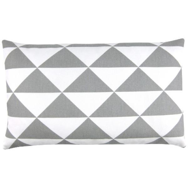 kissen dimensions grau dreiecke grafisch skandinavisch nordisch 30 x 50 cm. Black Bedroom Furniture Sets. Home Design Ideas