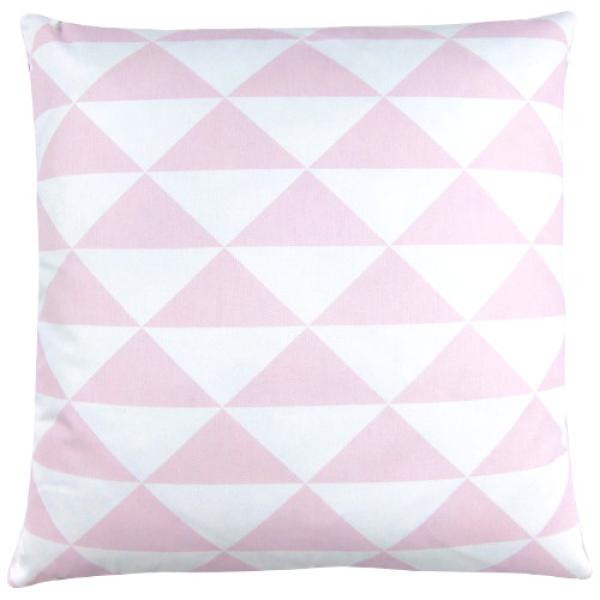 kissen dimensions rosa pastell dreiecke geometrisch skandinavisch 50 x 50 cm. Black Bedroom Furniture Sets. Home Design Ideas
