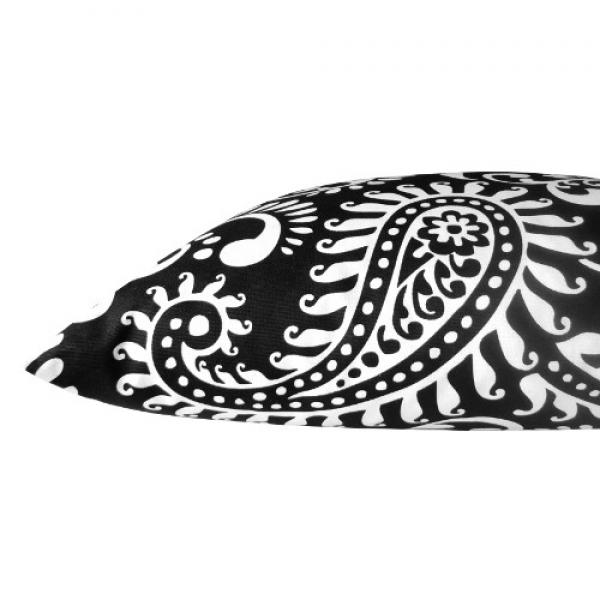 kissenh lle walker schwarz wei paisley 40 x 60 cm. Black Bedroom Furniture Sets. Home Design Ideas